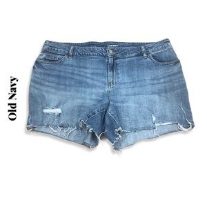 Old Navy Destroyed Cut Off Shorts Sz 18
